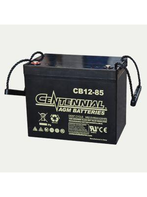 Centennial CB12-85 12V 85Ah Group 24 Sealed Lead Acid AGM Battery