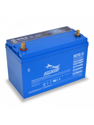 DC115-12 Fullriver 12V 115Ah GRP 31 Sealed Lead Acid AGM Battery