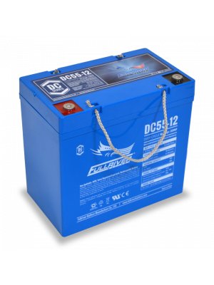 DC55-12 Fullriver 12V 55Ah GRP 22NF Sealed Lead Acid AGM Battery