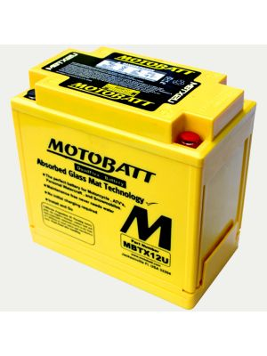 MotoBatt MBTX12U 14AH PowerSports Battery