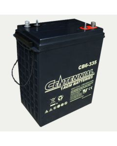 Centennial CB6-335 6V 335Ah J305 Sealed Lead Acid AGM Battery