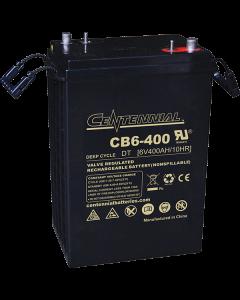 Centennial CB6-400 6V 400Ah L16 Sealed Lead Acid AGM Battery