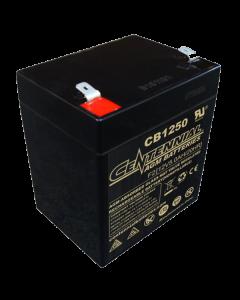 Centennial CB1250F1 12 Volt 5 Amp Hour Sealed Lead Acid AGM Battery