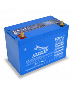 DC105-12 Fullriver 12V 105Ah GRP 27 Sealed Lead Acid AGM Battery