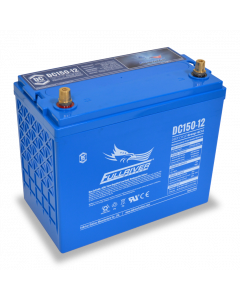 DC150-12 Fullriver 12V 150Ah GC12 Sealed Lead Acid AGM Battery