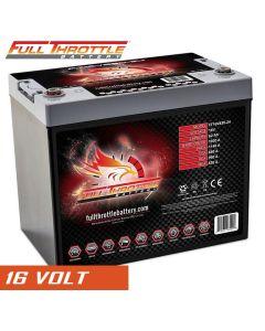 Fullriver Full Throttle FT16v830-24, 16 Volt, 1140 PHCA, AGM Specialty Battery (Group 24)