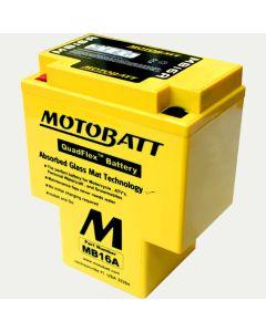 MotoBatt MB16A 19AH PowerSports Battery