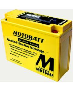 MotoBatt MB16AU 20.5AH PowerSports Battery