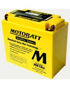 MotoBatt MB18U 22.5AH PowerSports Battery
