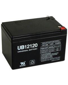 Universal Power UB12120 12 Volt 12 Amp Hour Sealed Lead Acid AGM Battery