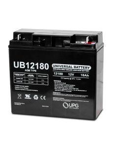 Universal Power UB12180 12 Volt 18 Amp Hour Sealed Lead Acid AGM Battery