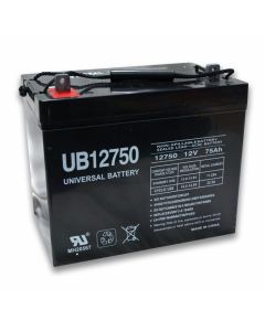 Universal Power UB12750 12 Volt 75 Amp Hour Sealed Lead Acid AGM Battery