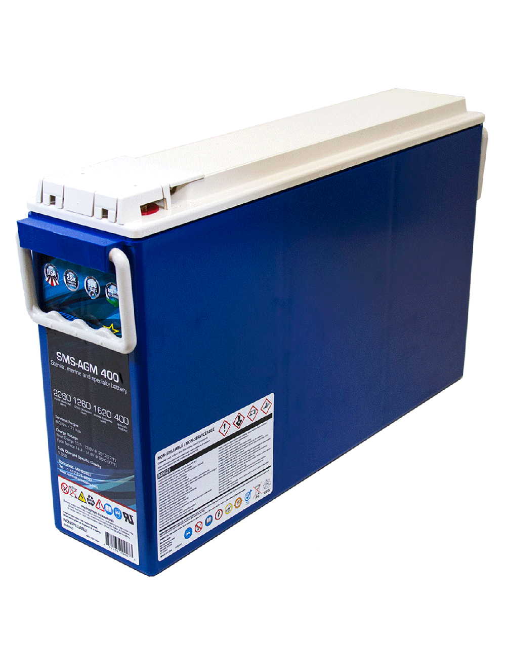 Northstar SMS-AGM 400 182 Amp Hour Battery