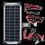 Zamp Solar 10-Watt Solar Maintainer Kit